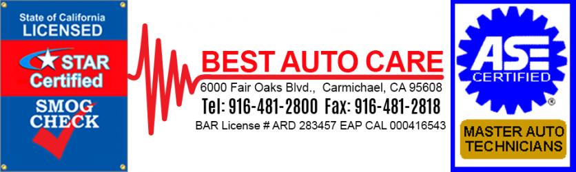 Best Auto Care 916-481-2800